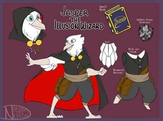 Jasper ::DnD REF:: by NakaratheDemon