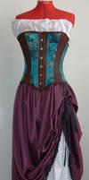 Neo-Victorian skirt