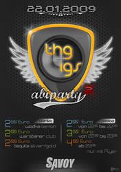 AbiParty Flyer Jan '09
