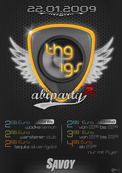 AbiParty Flyer Jan '09 by markus-worbs