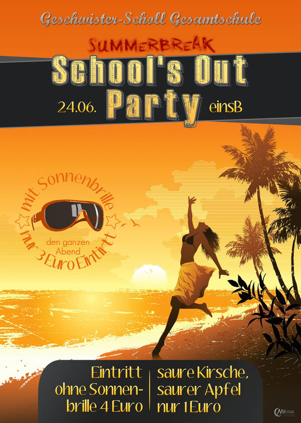 Schools Out Flyer by markus-worbs