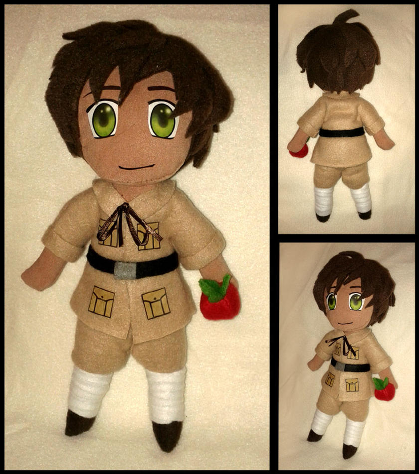 Spain Plushie Doll-- Hetalia by Threnodi