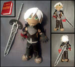 Fenris--Dragon Age 2 with Sword and Book