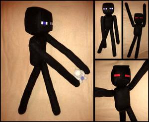Minecraft Enderman Plushie