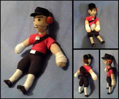 TF2 Scout Mini Plushie by Threnodi