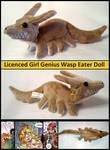 Girl Genius Wasp Eater Plushie Doll