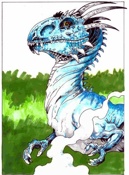 Blue Dragon by PM-Graphix