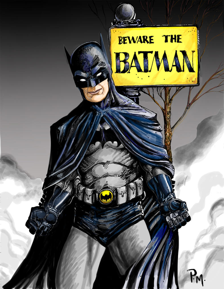 Beware The Batman by PM-Graphix