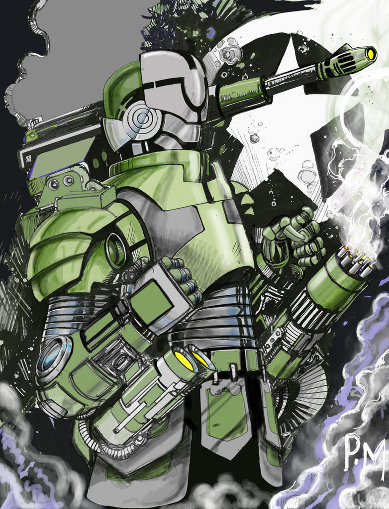 Max Mech  by PM-Graphix