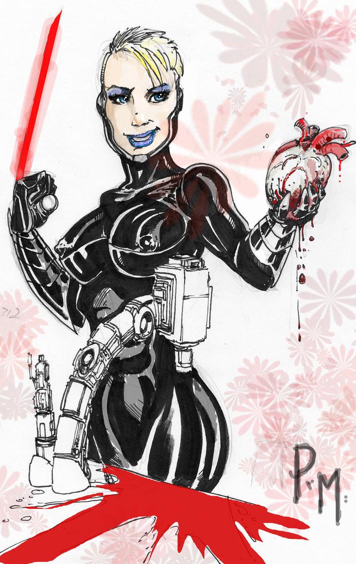 Tygress Valentine by PM-Graphix