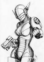 Robotta -inktober Oct2 by PM-Graphix