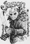Inktober Oct 23rd - Jason