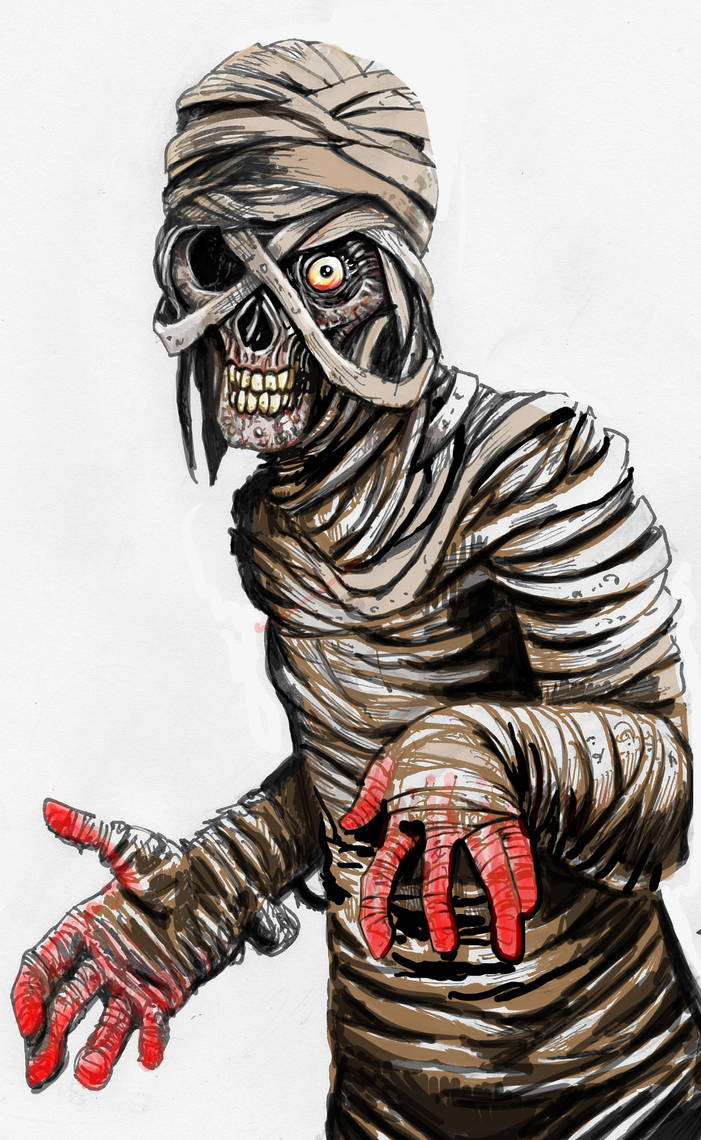 Mummy Color by PM-Graphix