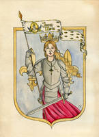 Joan of Arc by Kitty-Grimm