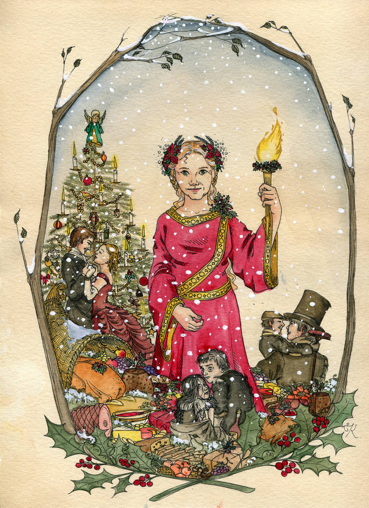 The Ghost Of Christmas Present.The Ghost Of Christmas Present By Kitty Grimm On Deviantart