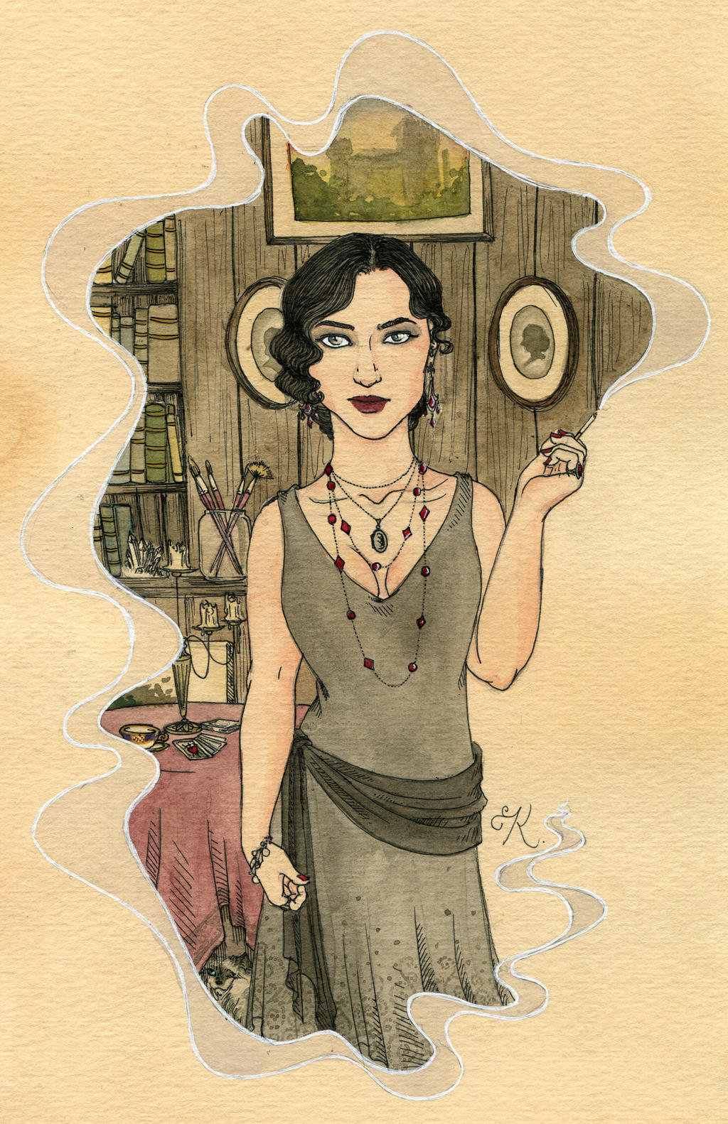 The Odd Ms. Moreau by Kitty-Grimm