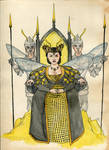 The Queen Bee Apis