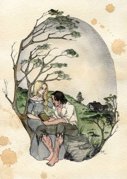 Cathy and Hareton