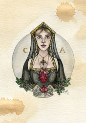 Catherine of Aragon by Kitty-Grimm