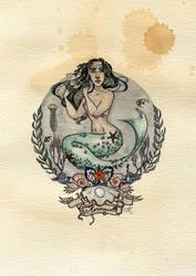 Mermaid by Kitty-Grimm