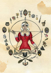 Sabrina Spellman by Kitty-Grimm
