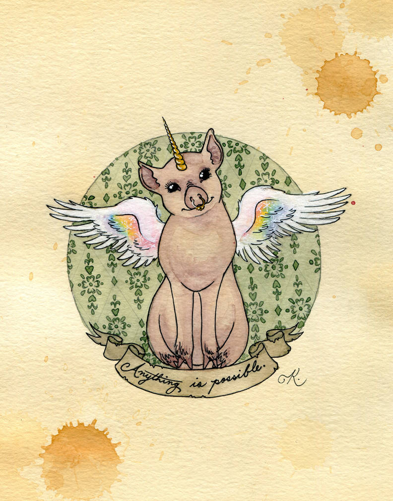 When Pigs Fly by Kitty-Grimm