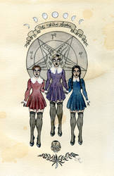 The Weird Sisters by Kitty-Grimm