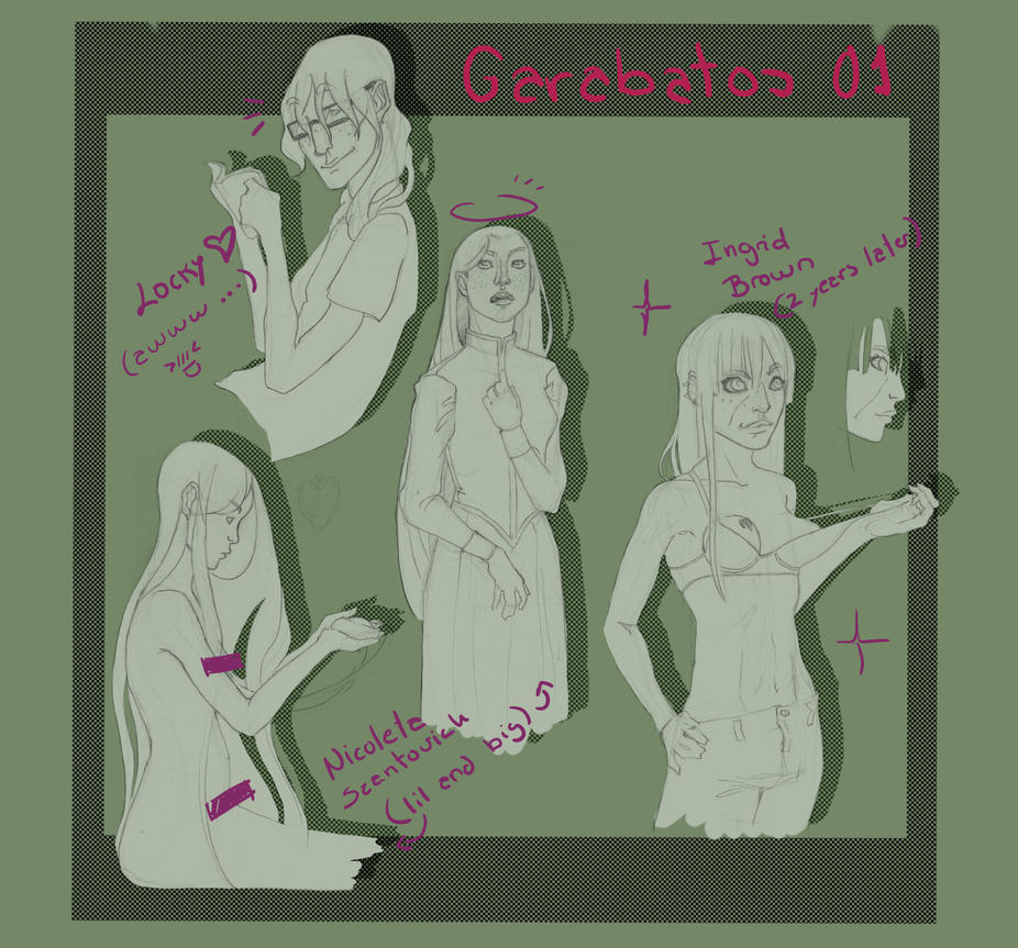 Garabatos 01 by GeneticMistake