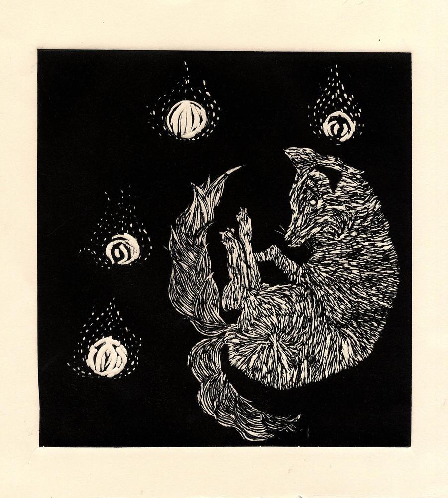 kitsune by GeneticMistake