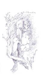 Ilphrin line art by GeneticMistake