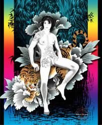Tiger Boy by Izzie-Kikue