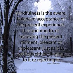 Mindfulness by Izzie-Kikue