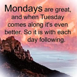 Monday Following