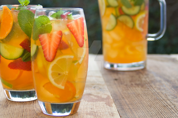 Pimms Summer Jug by iconsPhotography