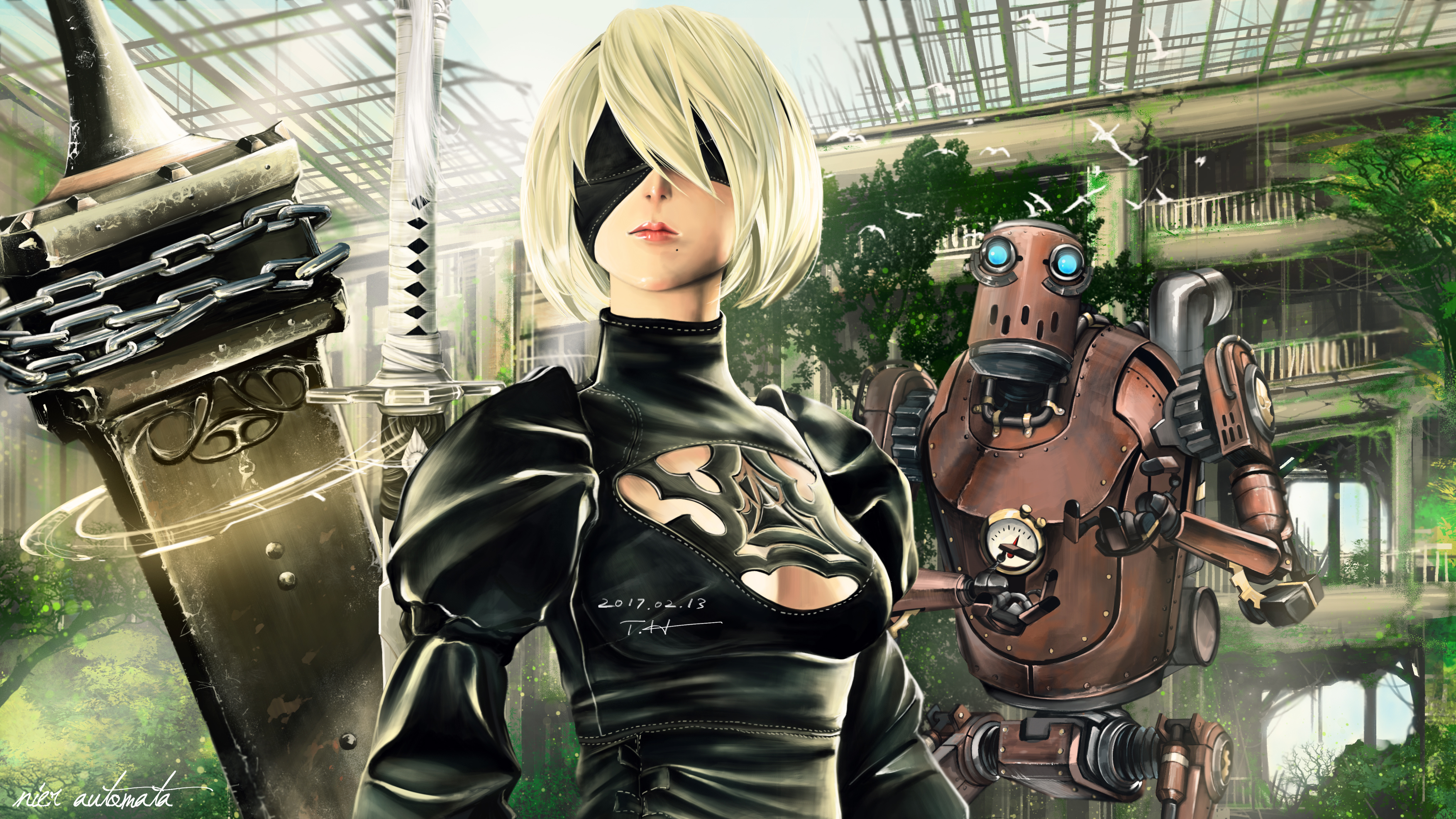 nier automata this part belongs to a machine lifeform