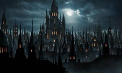 Gothic castle by higu0217