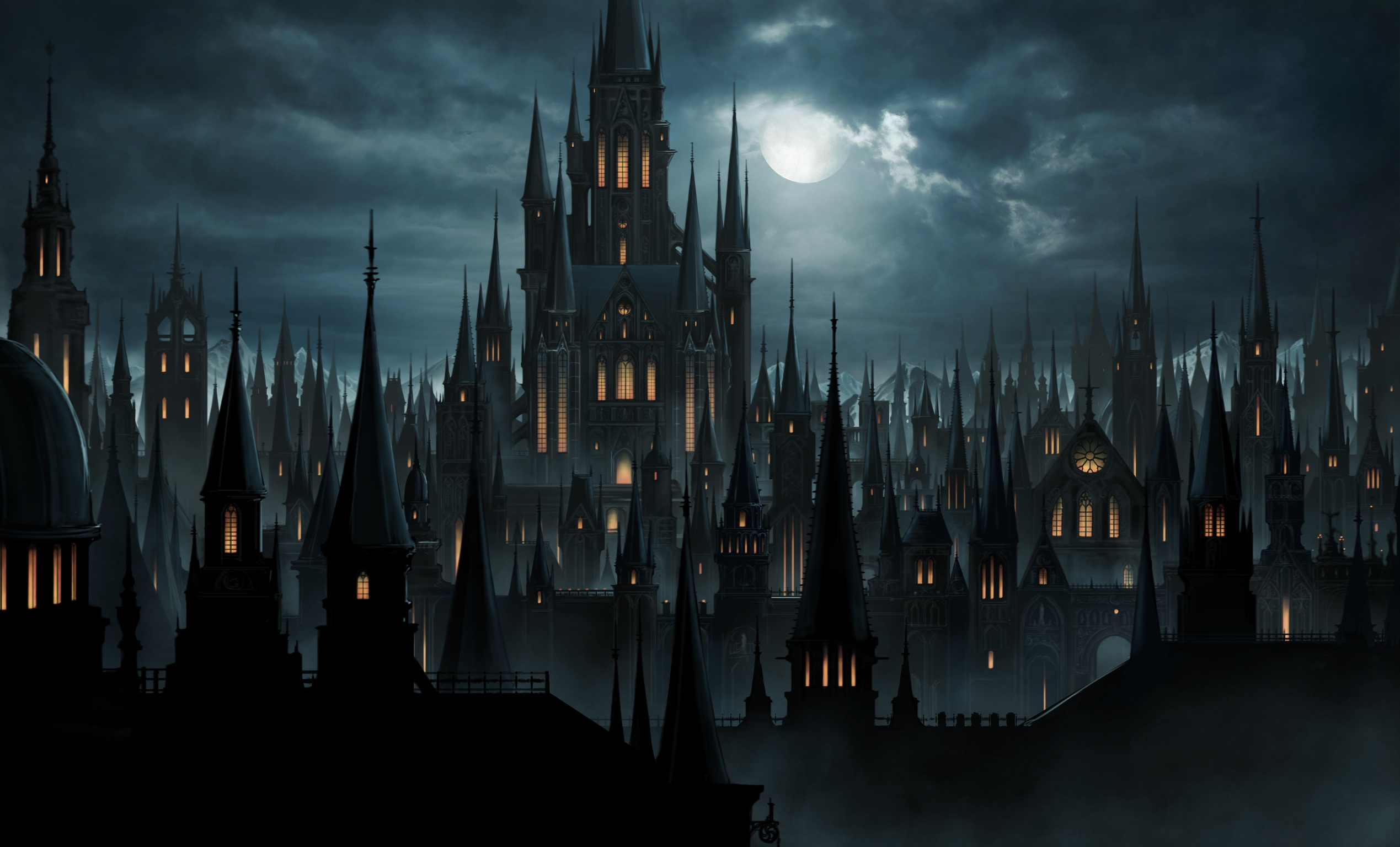 gothic castle 3 by - photo #33