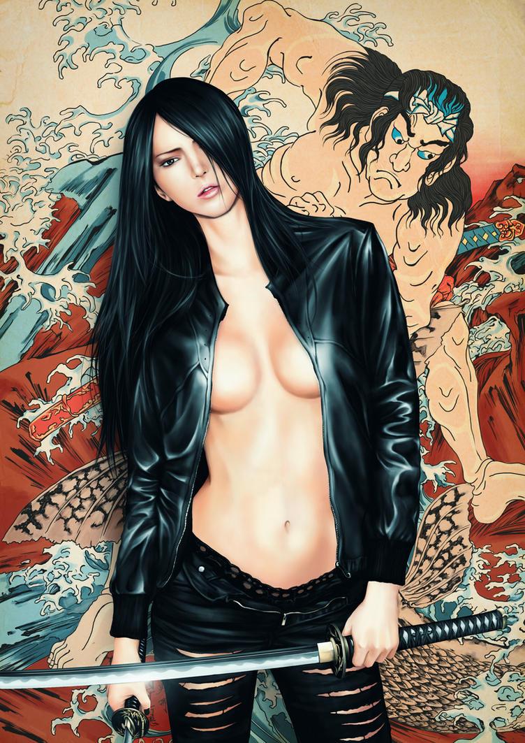 Samurai Girl by higu0217