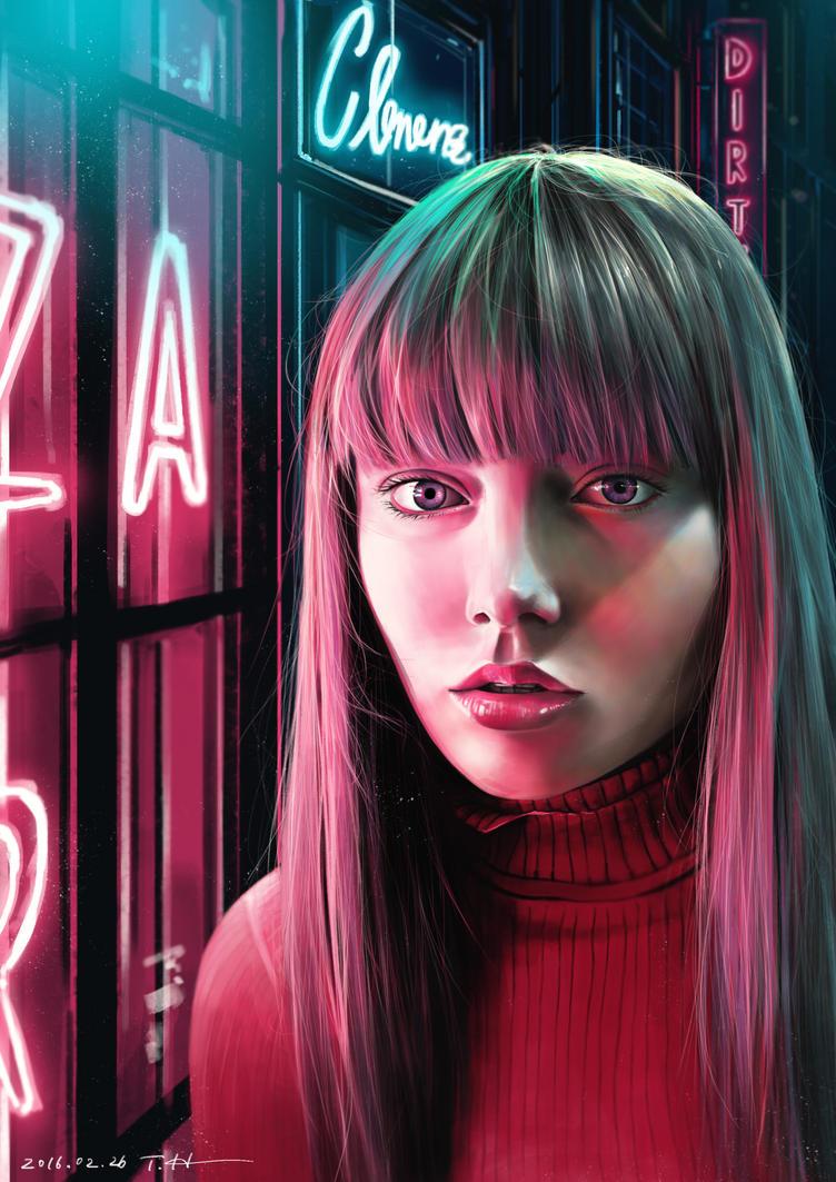Neon Lights by higu0217