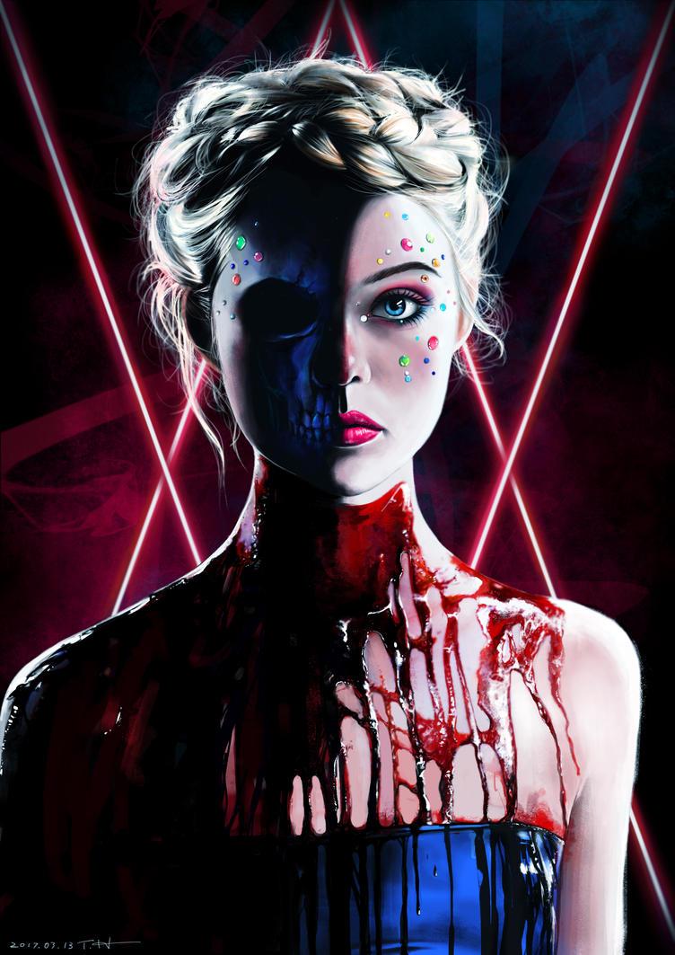 The Neon Demon by higu0217