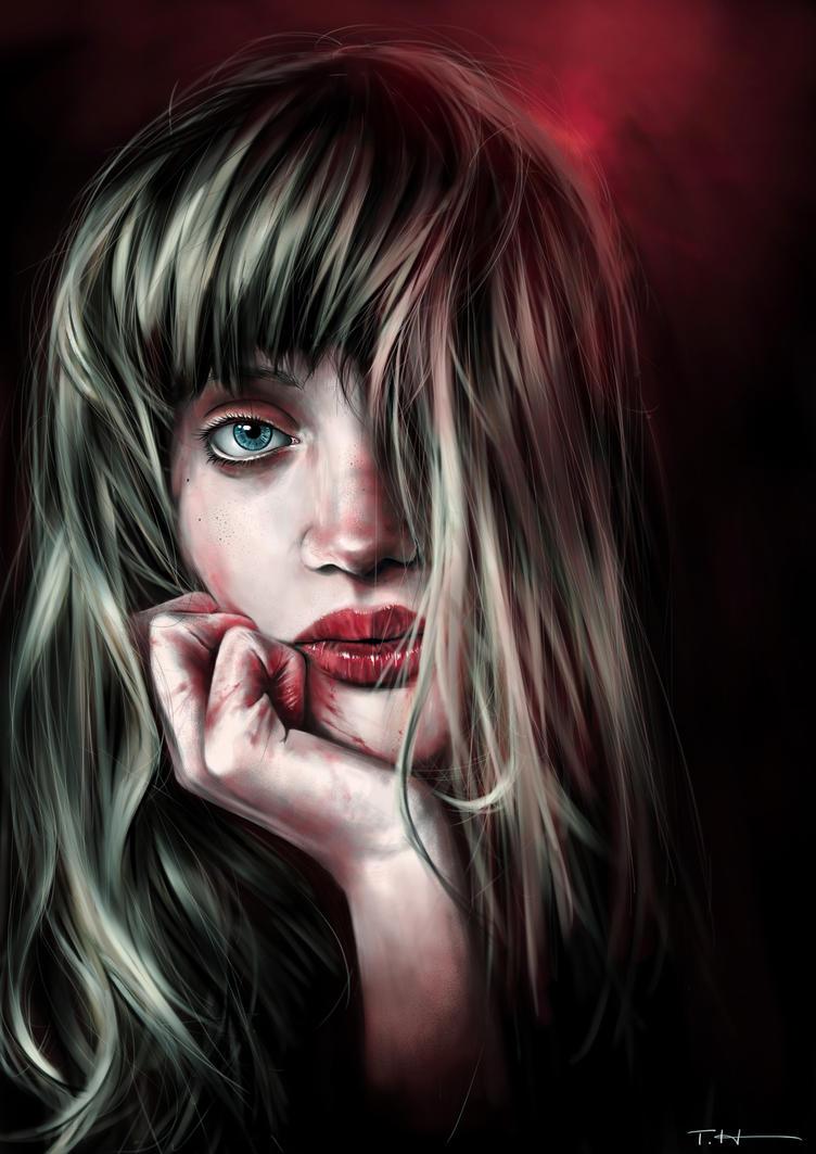 Girl In The Dark by higu0217