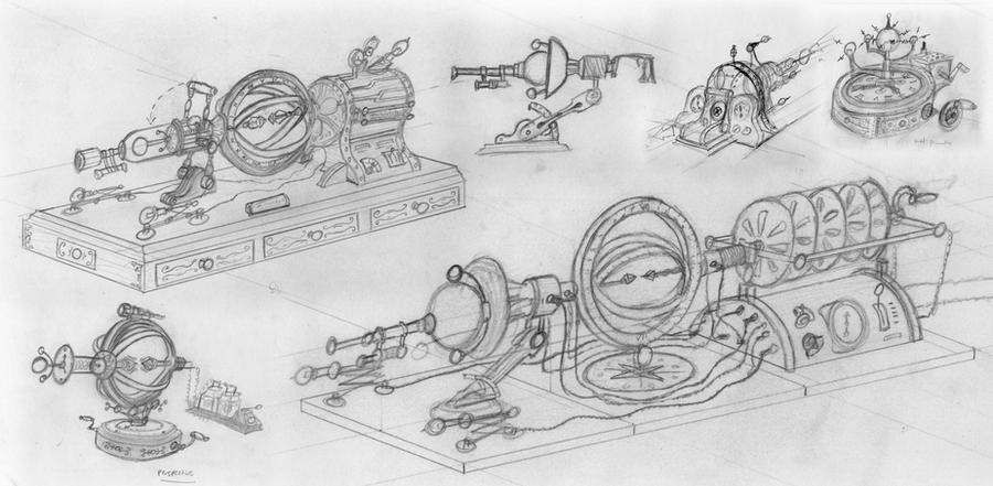 time machine sketches