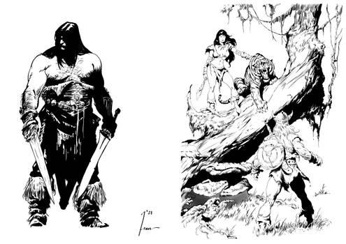 Conan Ink exercice
