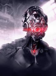 Alien-cyborg by zerojs