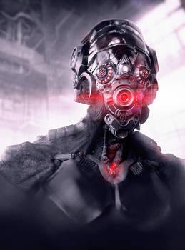 Alien-cyborg