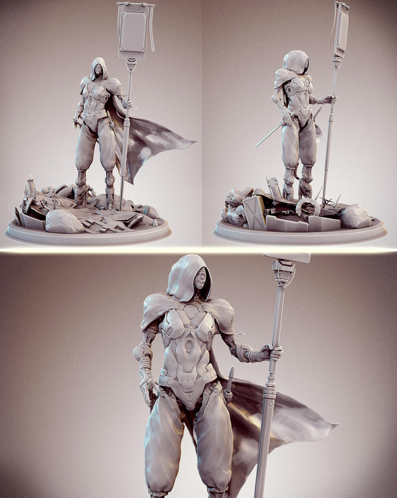 Victory! Statue version by zerojs