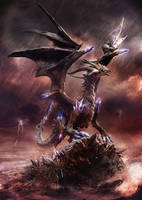 Criostail the dragon by zerojs