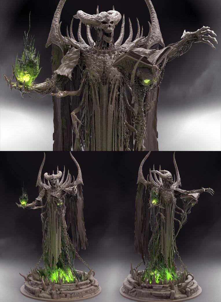 Conjured wraith by zerojs