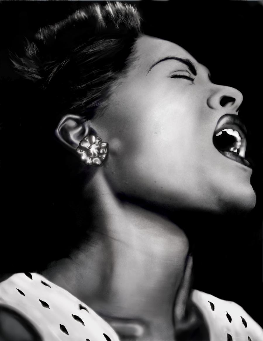 Billie Holiday Unfinished