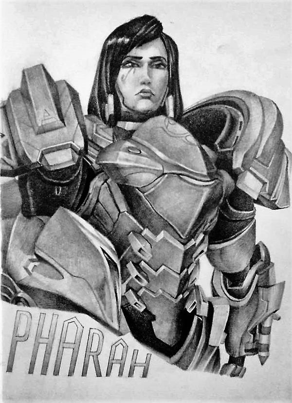 pharah by INAZUMAN11